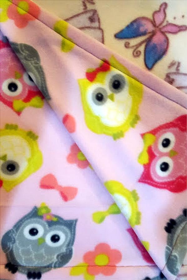 Custom Blanket No Fringe