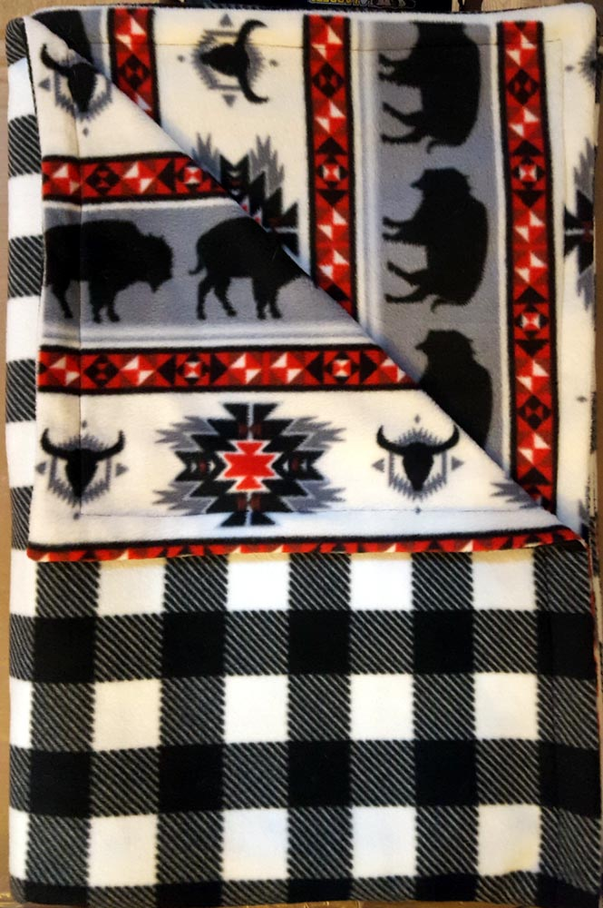 Custom Blanket No Fringe